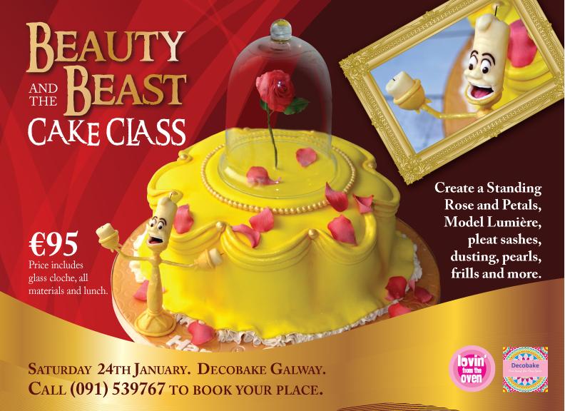 beauty beast cake-01