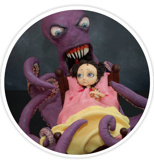 A Nightmare of a Cake!