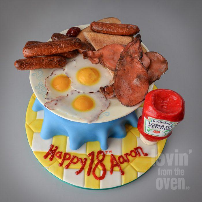 A Breakfast Cake